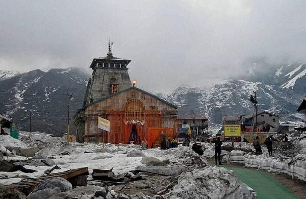 Amid COVID-19 spread, devotees offer prayers during Chardham Yatra