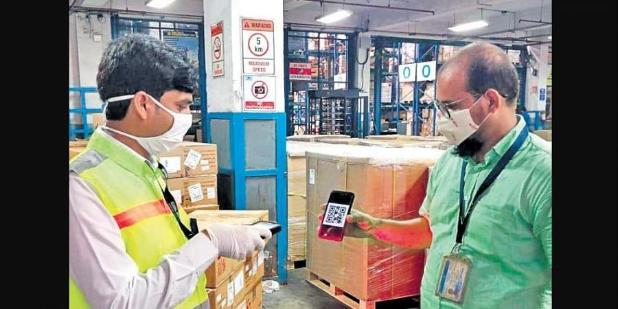 The QR-coded E-gate pass facility is the first of its kind in the country
