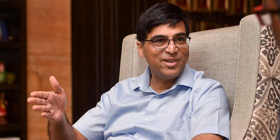 Former world chess champion Viswanathan Anand