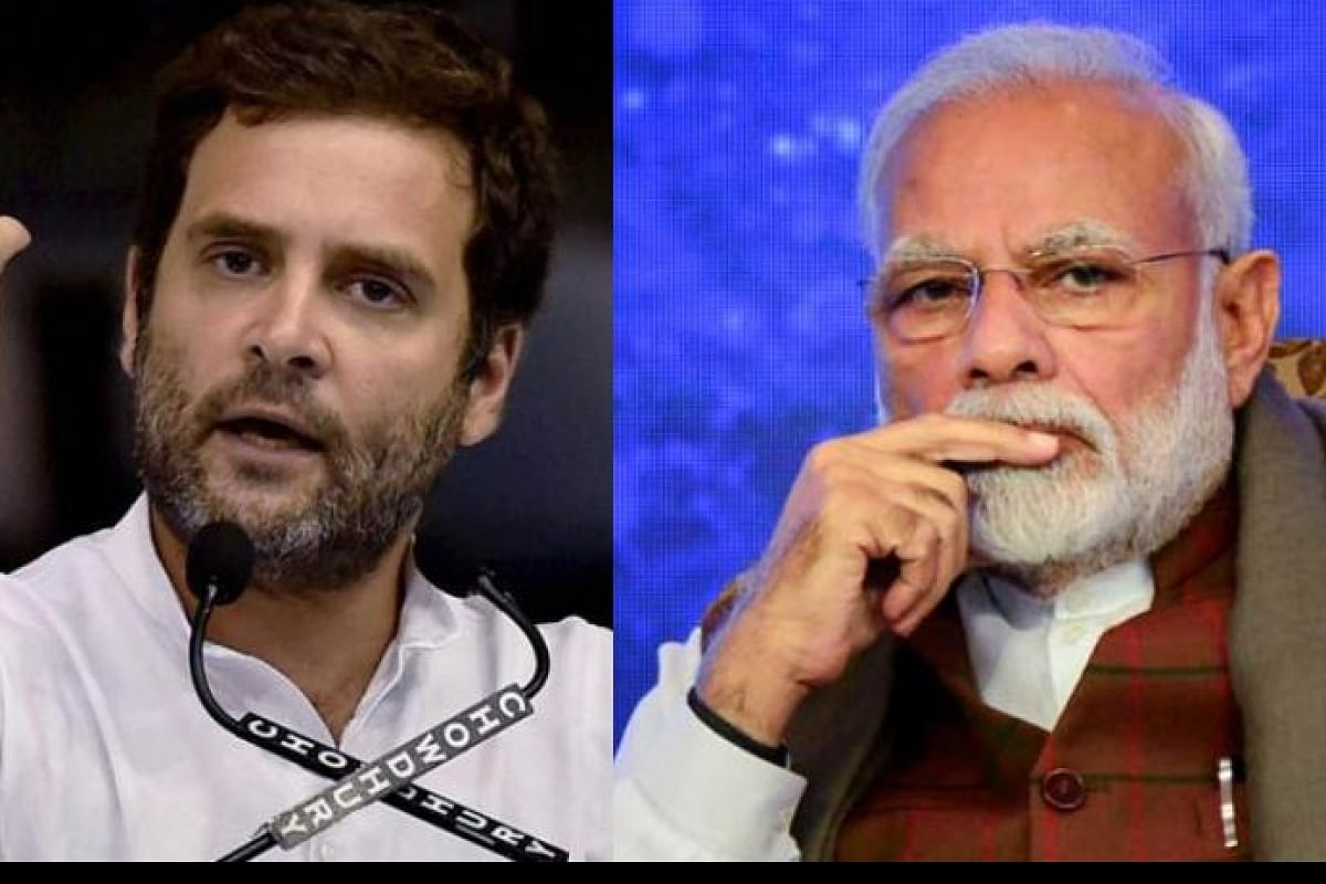 Congress leader Rahul Gandhi greets PM Narendra Modi on his birthday- The New Indian Express