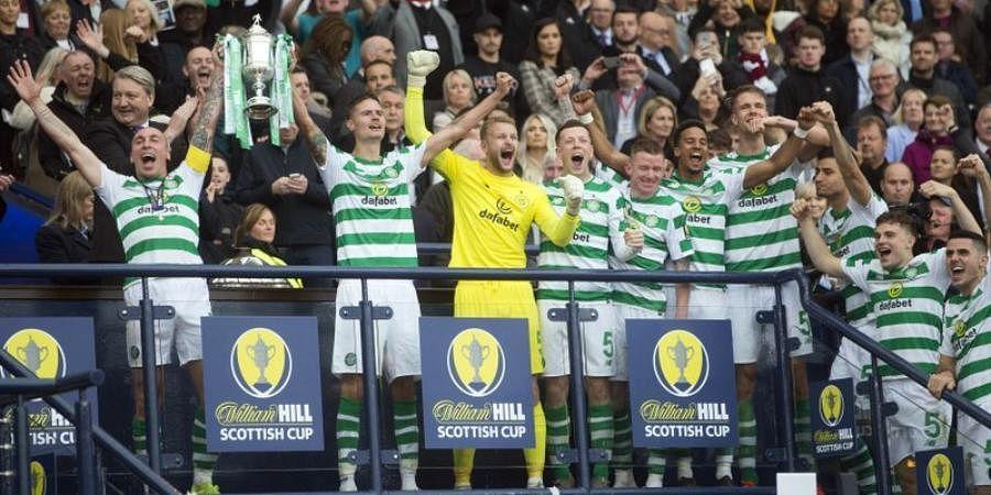 Scottish Cup defending champs Celtic FC