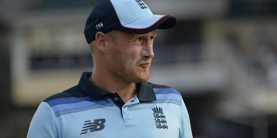 England's Matt Parkinson looks on during the first one day international (ODI) cricket match between South Africa and England. (Photo | AFP)