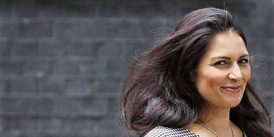 UK Home Secretary Priti Patel