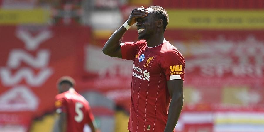 Liverpool forwardSadio Mane
