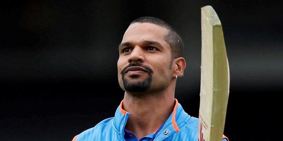 Indian batsman Shikhar Dhawan