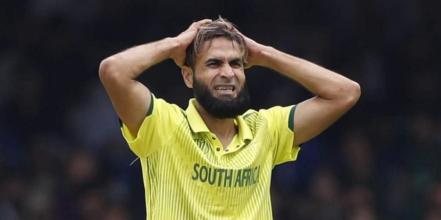 South African leg spinner Imran Tahir