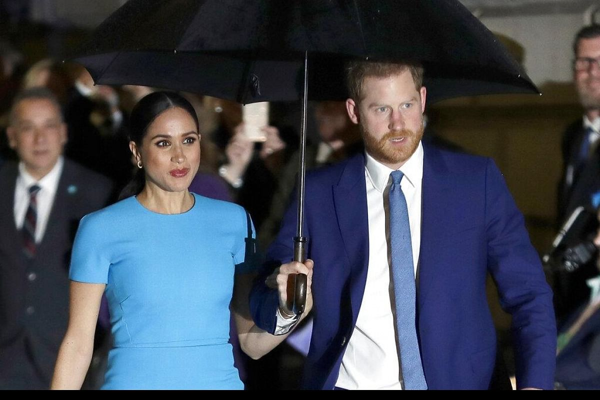 prince harry meghan markle sue over photo of son archie taken at los angeles home the new indian express prince harry meghan markle sue over