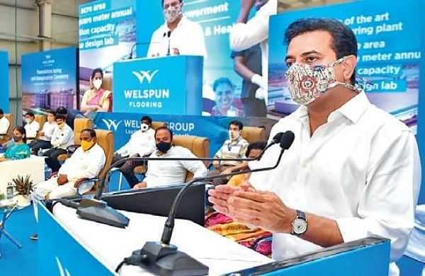 Ktr Bats For Regional Empowerment During Launch Of Welspun Facility In Rr The New Indian Express