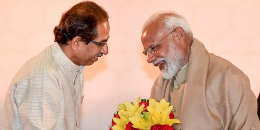 Maharashtra CM Uddhav Thackeray and PM Narendra Modi