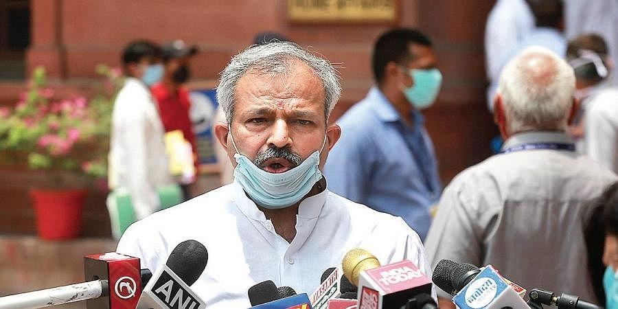 Delhi BJP president Adesh Kumar Gupta.