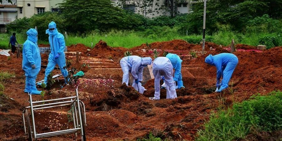 covid burial