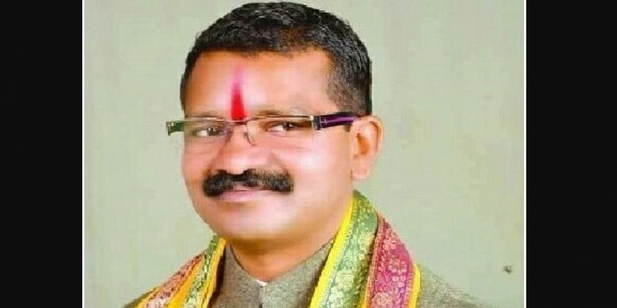 Deceased Chhattisgarh MLA Bhima Mandavi (Photo | Twitter)
