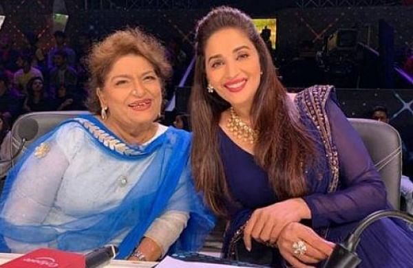 Madhuri Dixit pays tribute to 'friend and guru' Saroj Khan