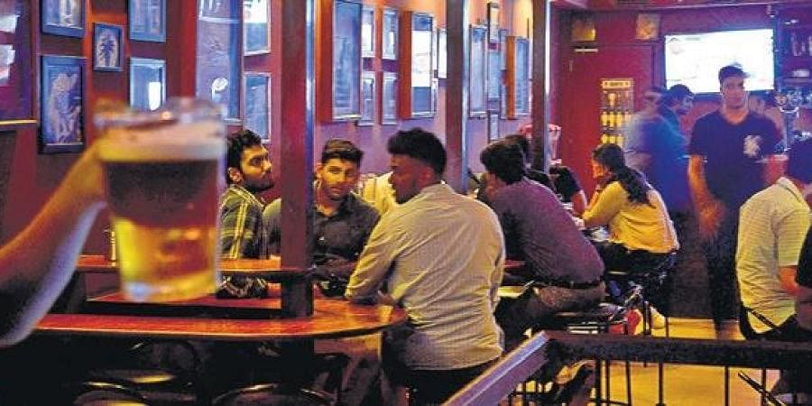 Pub, bar owners in low spirits, unable to renew licence- The New Indian  Express
