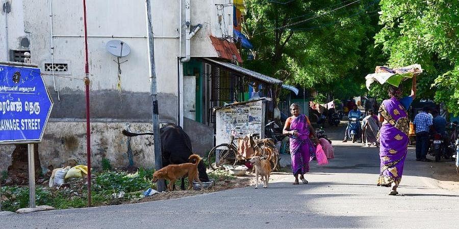 Drainage street
