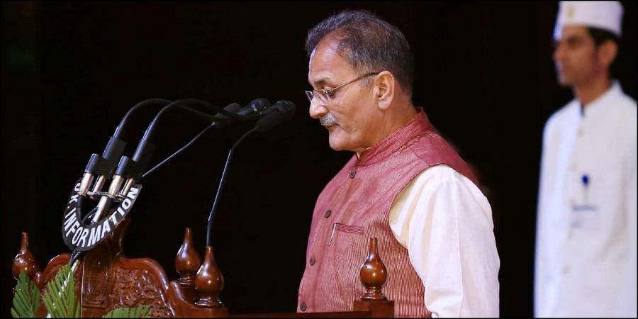 Former Jammu and Kashmir Deputy Chief Minister Kavinder Gupta