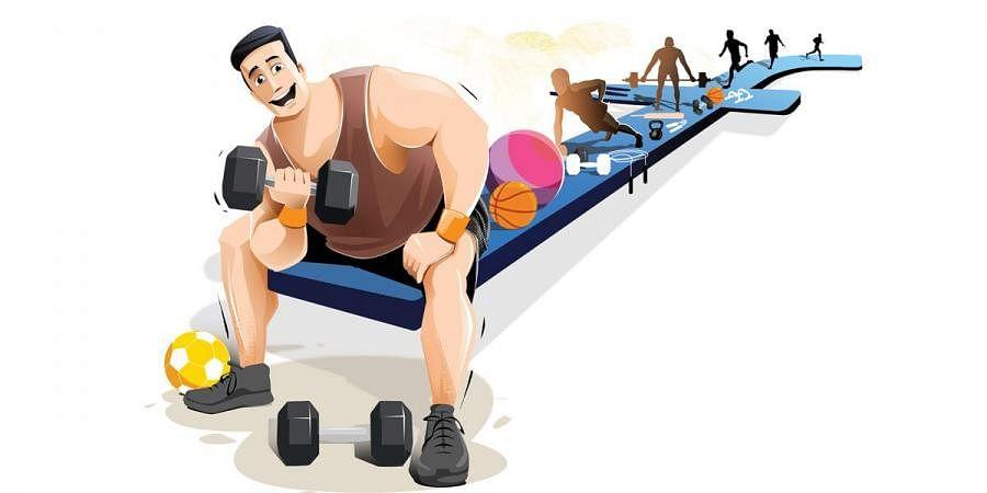 Gym, health, fitness