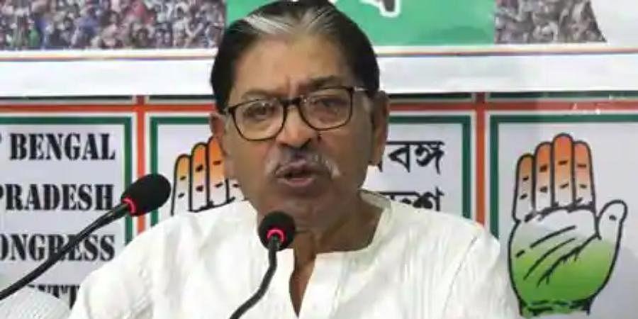 West Bengal Congress chief Somen Mitra