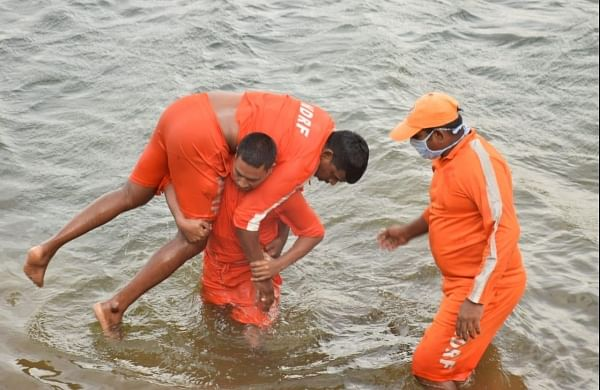 Floods: NDRF positions 90 teams, new drills to tackle COVID-19