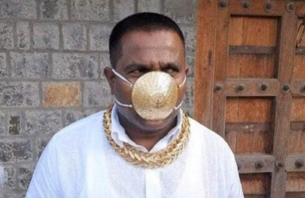 Coronavirus: Pune man dons gold mask worth almost Rs 3 lakh in public
