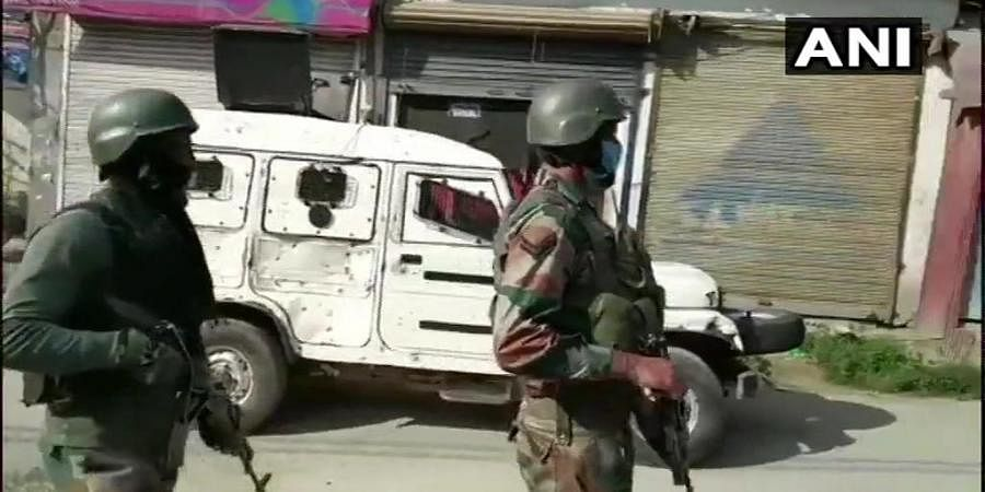 Encounter underway at Arrah area of Kulgam.
