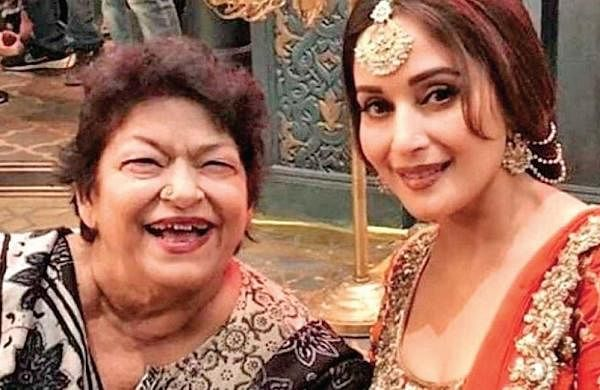Late choreographer Saroj Khan composed steps for Madhuri Dixit's Ek Do Teen in just 20 minutes