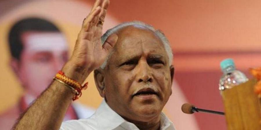 Karnataka CM BS Yediyurappa
