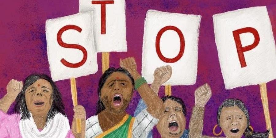 For representational purposes.(Photo | Aasawari Kulkarni, Feminism in India)