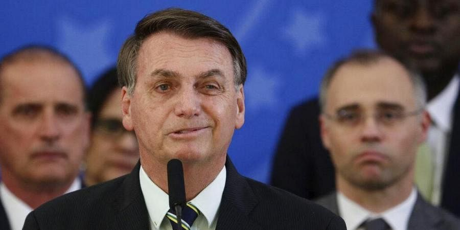 Brazil President Jair Bolsonaro tests positive for coronavirus- The New  Indian Express