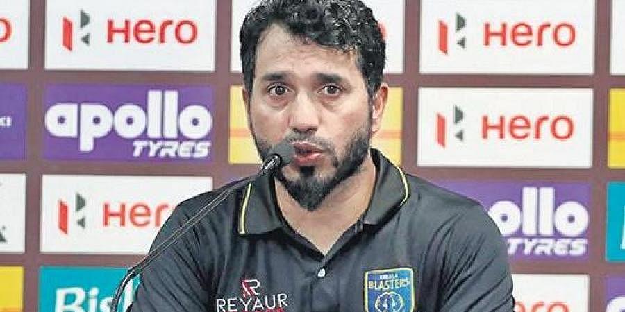 Kerala Blasters FC assistant coach Ishfaq Ahmed