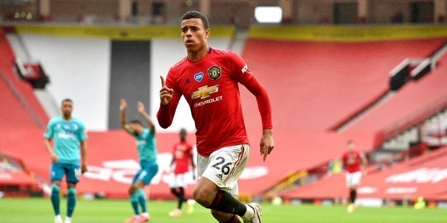 Manchester United forward Mason Greenwood
