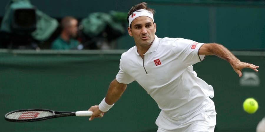 Twenty-time Grand Slam champion Roger Federer
