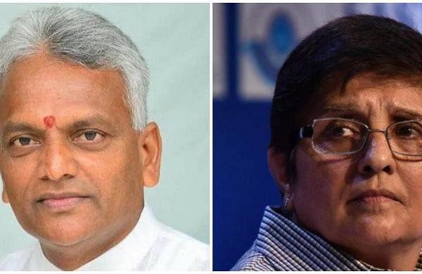 Puducherry Health Minister Malladi Krishna Rao accuses LG Kiran Bedi of draining UT's finances