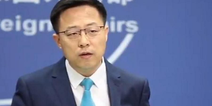 Chinese Foreign Ministry spokesman Zhao Lijian