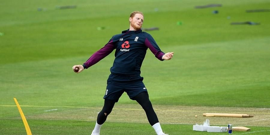 Ben Stokes of England warms up during day one of a Warm Up match at Southampton. (Photo | AP)