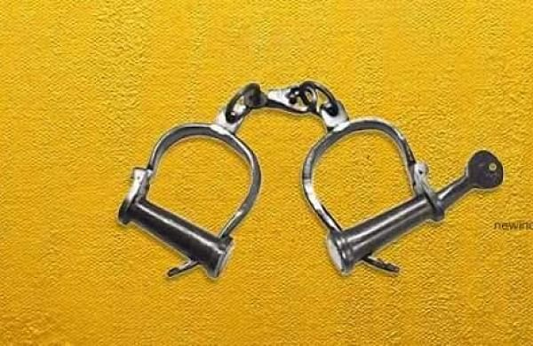 UP legislator wanted in extortion case detained in MP