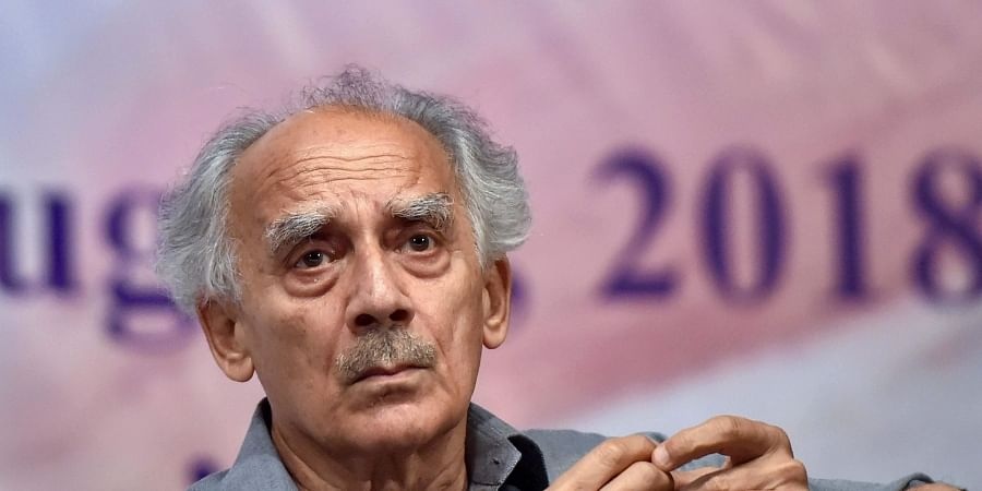 Former Union Minister Arun Shourie