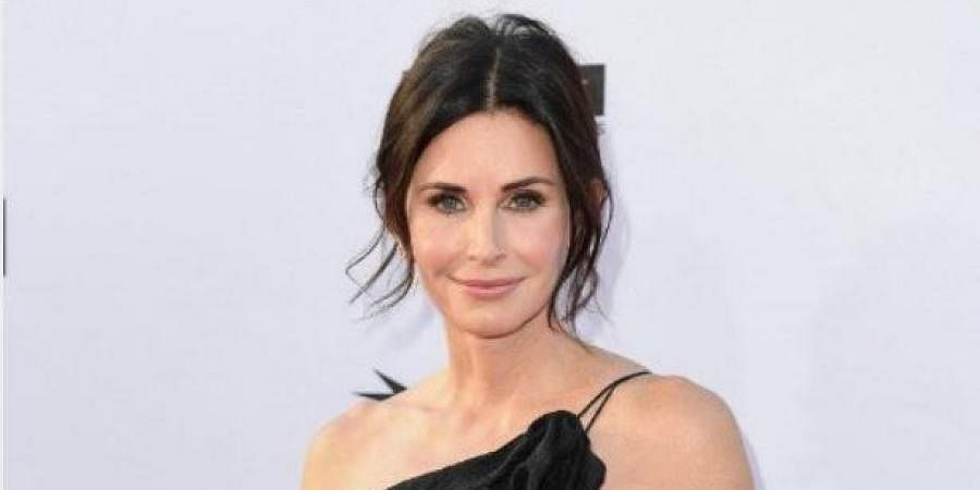 Hollywood actress Courtney Cox