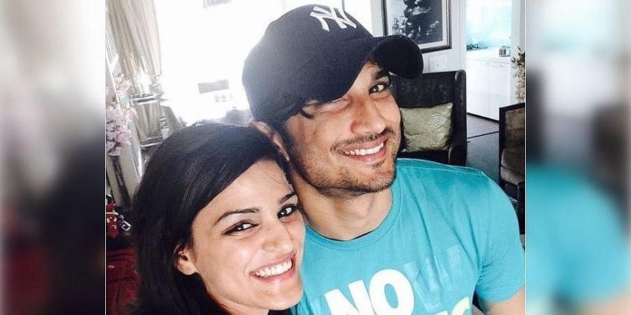 Late actor Sushant Singh Rajput (R) with his sister Shweta Singh Kirti