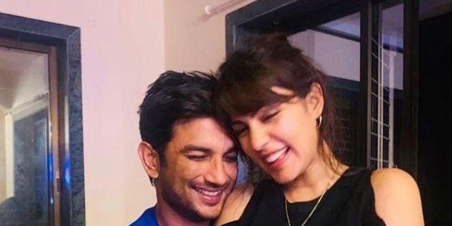 Late actor Sushant Singh Rajput and Rhea Chakraborty (Photo   Rhea Chakraborty, Instagram)