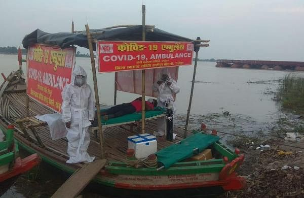 Bihar starts boat ambulance service to ferry Covid-19 patients from flood-hit areas