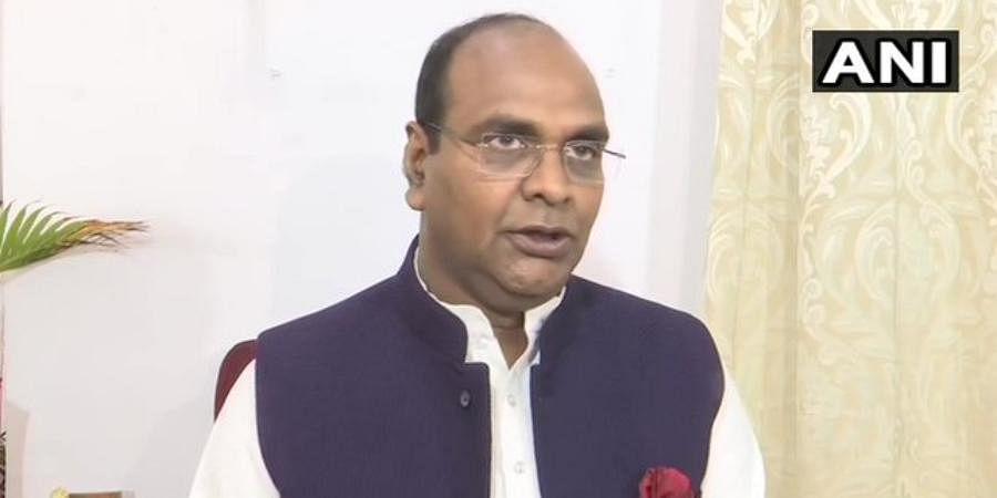 Madhya Pradesh Medical Education Minister Vishvas Sarang