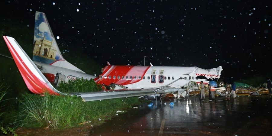The Air India Express flight from Dubai with 190 onboard overshot the tabletop runway at Kozhikode airport on Friday night killing up to 19 people.