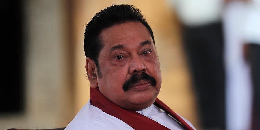 Sri Lanka PM Mahinda Rajapaksa
