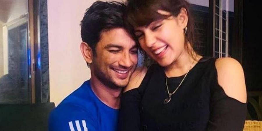 Late actor Sushant Singh Rajput and Rhea Chakraborty (Photo | Rhea Chakraborty, Instagram)