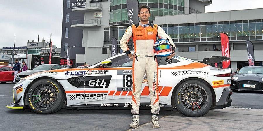 India racer Akhil Rabindra