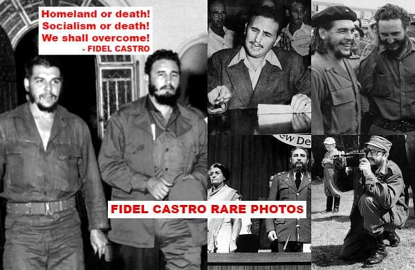 Fidel Castro death anniversary: Check out some rare photos of the Cuban revolutionary who defied US- The New Indian Express