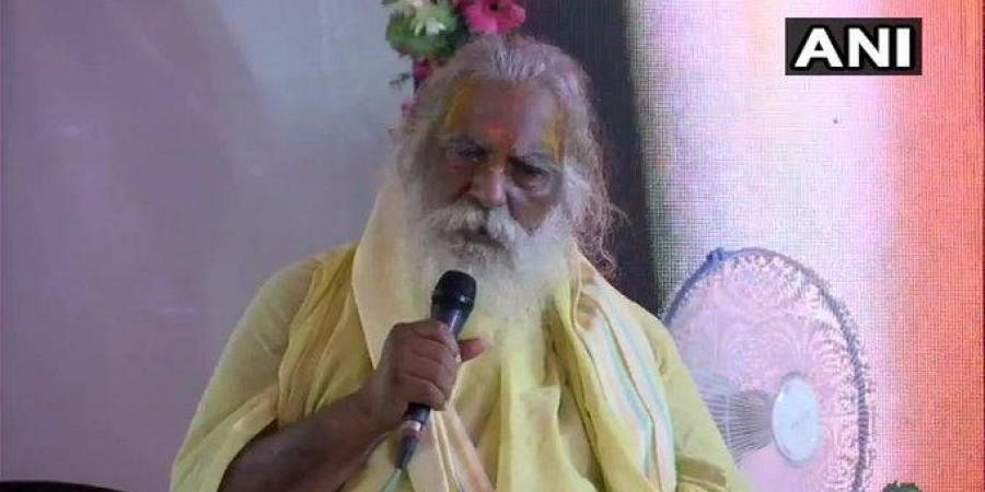 The head of the Ram Janmabhoomi trust in Ayodhya Mahant Nritya Gopal Das