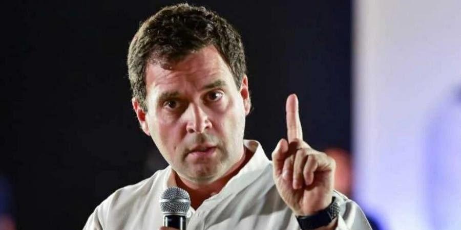 Congress MP Rahul Gandhi