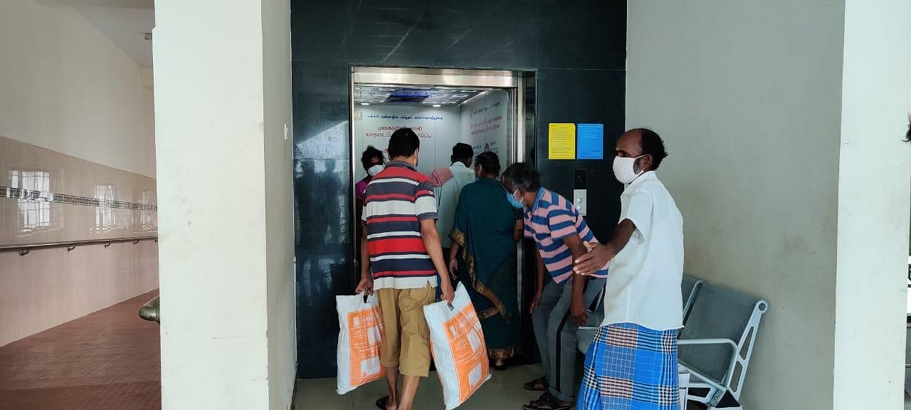Going Home - At 03:45 PM, Cured and relieved, these people are going home, after almost two weeks. (Photo | EPS/Shiba Prasad Sahu)